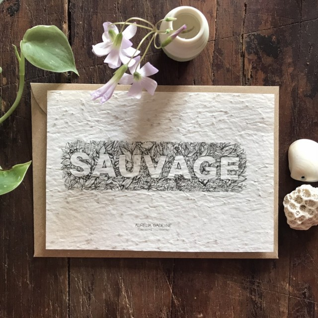 Carte à Planter Sauvage